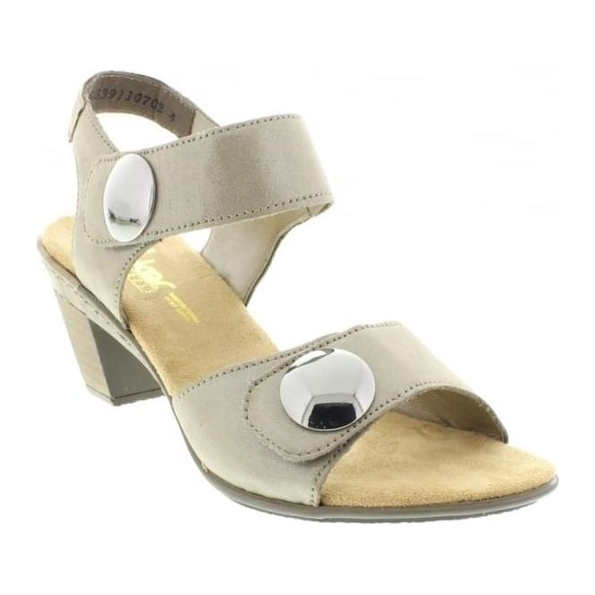 Rieker 67369-42 Grey Combination sandal