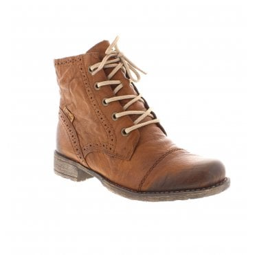 timeless design 969ca fdd19 Rieker 70800-22 Ladies Brown Ankle Boots