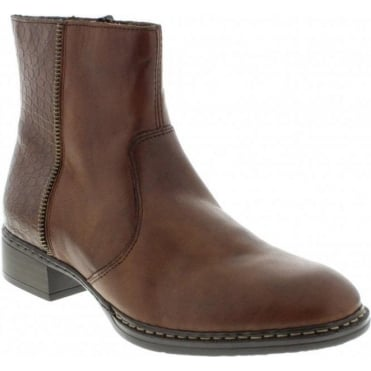 Rieker 73490-26 Brown boot