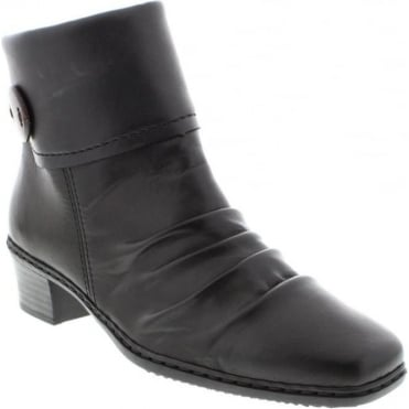 Rieker 74563-02 Black Combination boot