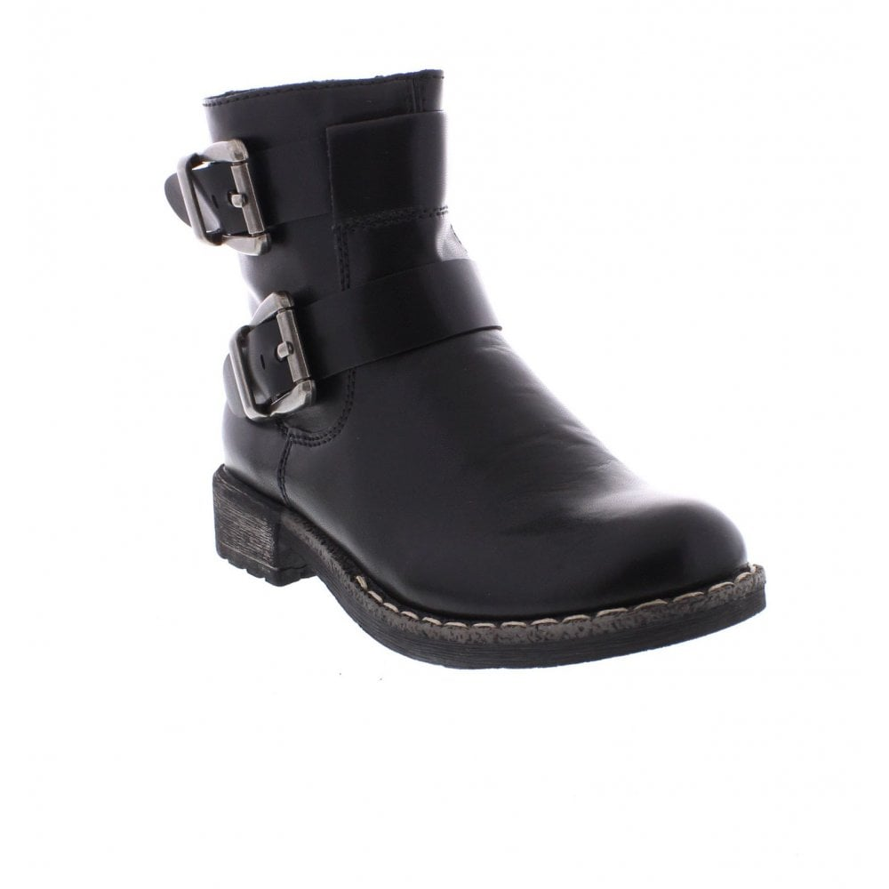 ffabe2f340e Rieker 74659-00 Ladies Black Ankle Boots - Rieker Ladies from Rieker UK