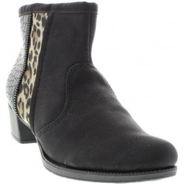 Rieker 76689-00 Black boot