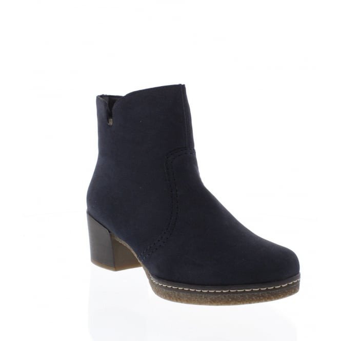 Rieker 79061-15 Womens blue ankle boots