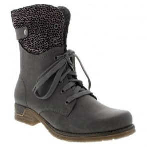 Rieker 79604-45 Grey Combination boot