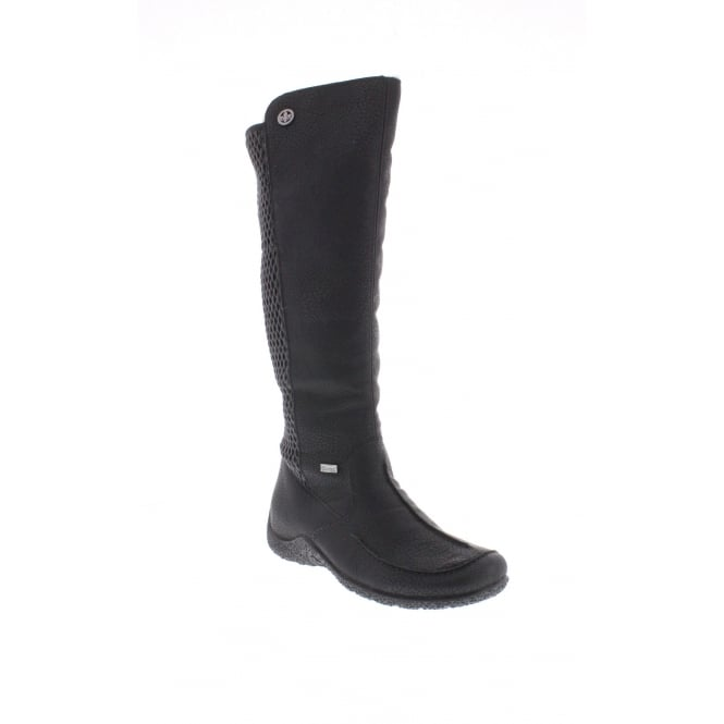 Rieker 79995-00 Womens black 'Tex' boots