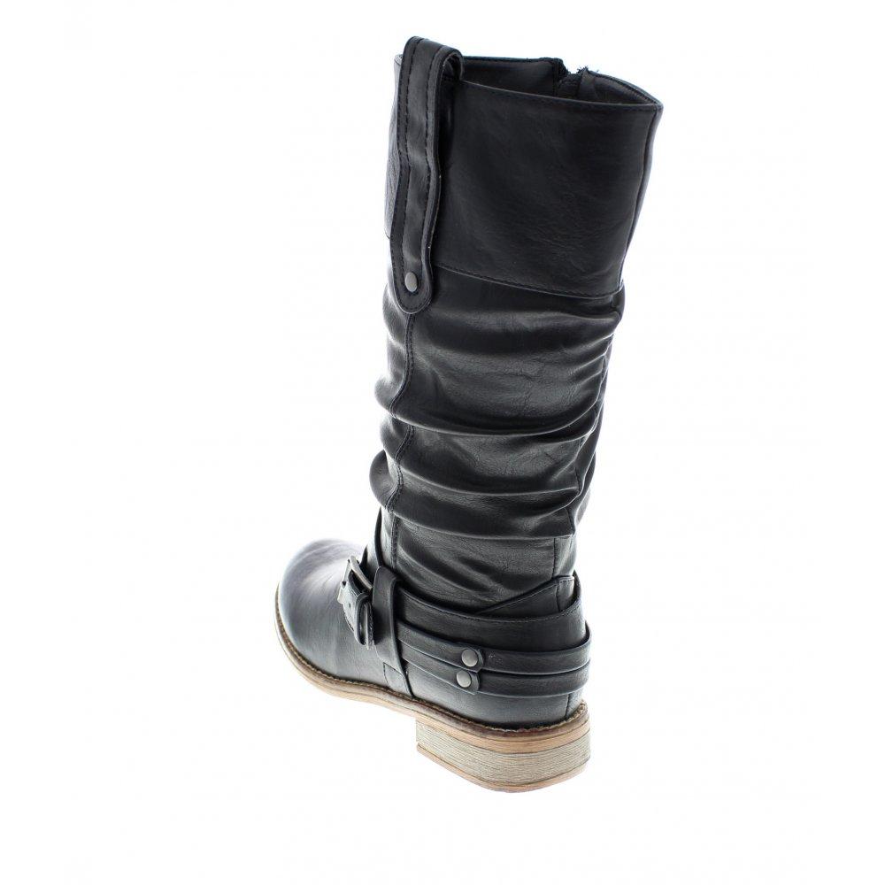 Rieker Rieker 95672 00 Black Boot Rieker From Rieker Uk