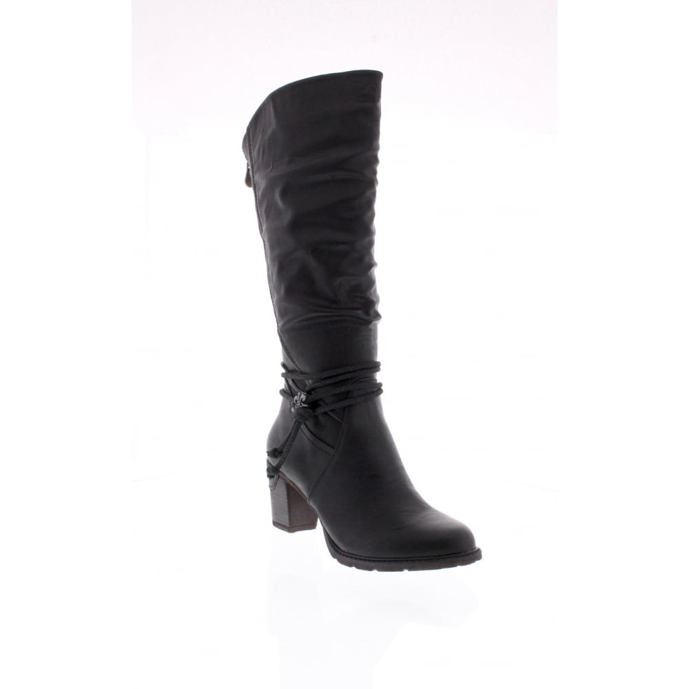hot-selling professional top-rated quality huge discount 96058-00 Womens black knee high boots