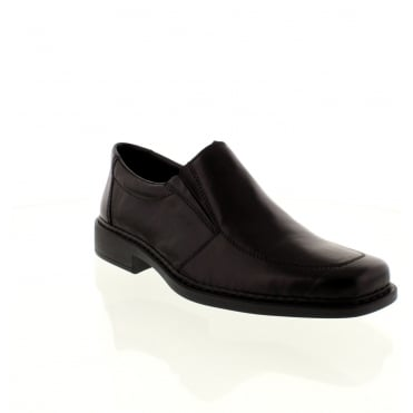 Rieker B0875-00 Mens Black Slip on shoes