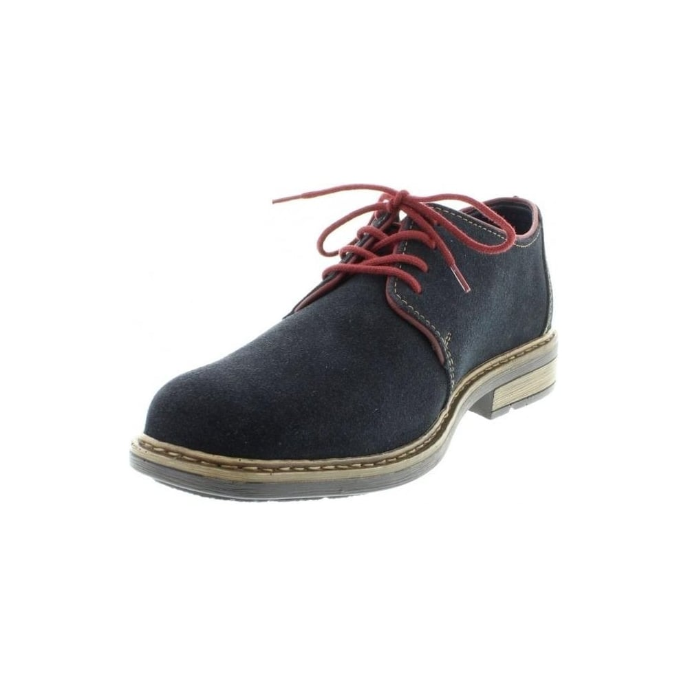 new high quality buying cheap closer at B1222-15 Mens Blue Lace Up shoes