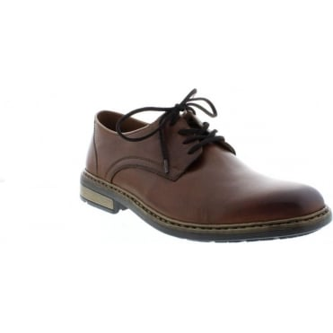 Rieker B1224-24 Mens Brown Lace Up shoes
