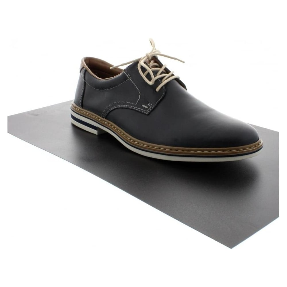 rieker b1411 14 mens blue lace shoes rieker mens from