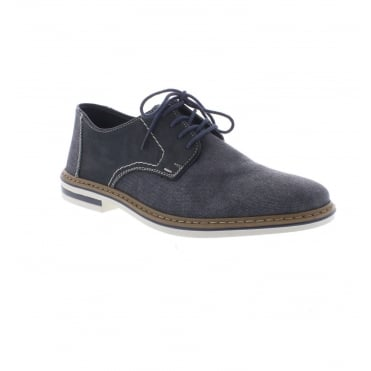 B1422-15 Men's Blue Lace Up shoes