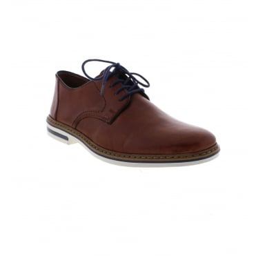 B1422-24 Men's Brown Lace up shoes