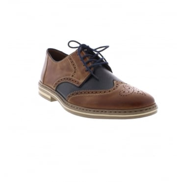 B14B8-25 Men's Brown combination shoes