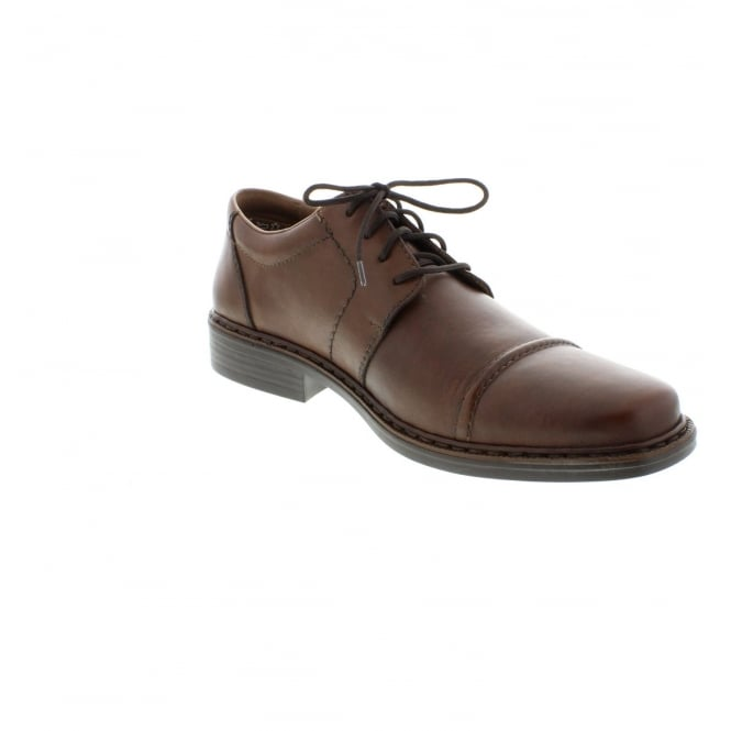 Rieker B2321-25 Mens Brown Lace shoes