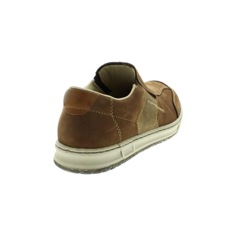 B3062 25 Mens Brown Slip on shoes