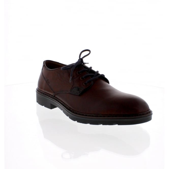 Rieker B3501-25 Mens Brown Lace Up Shoe
