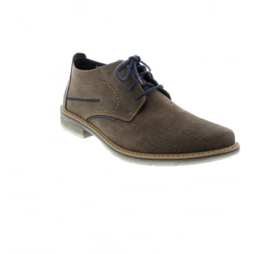 Rieker B3839-24 Mens Brown Lace shoes