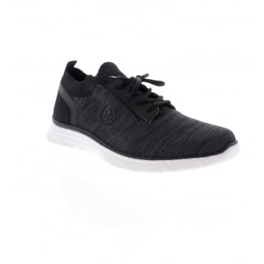 B4890-00 Men's Black Casual Shoes