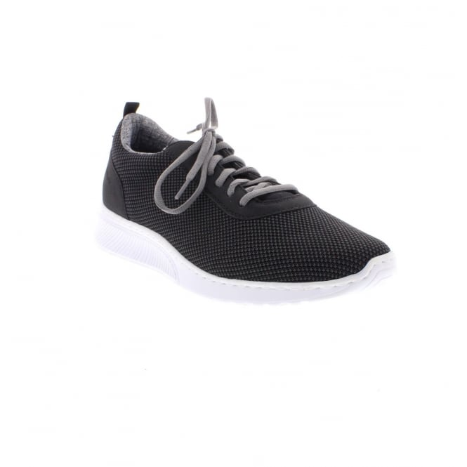 Rieker B5010-42 Mens black casual trainer shoes
