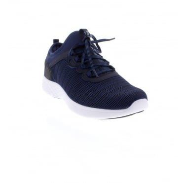 Rieker B9753-14 Men's blue trainers