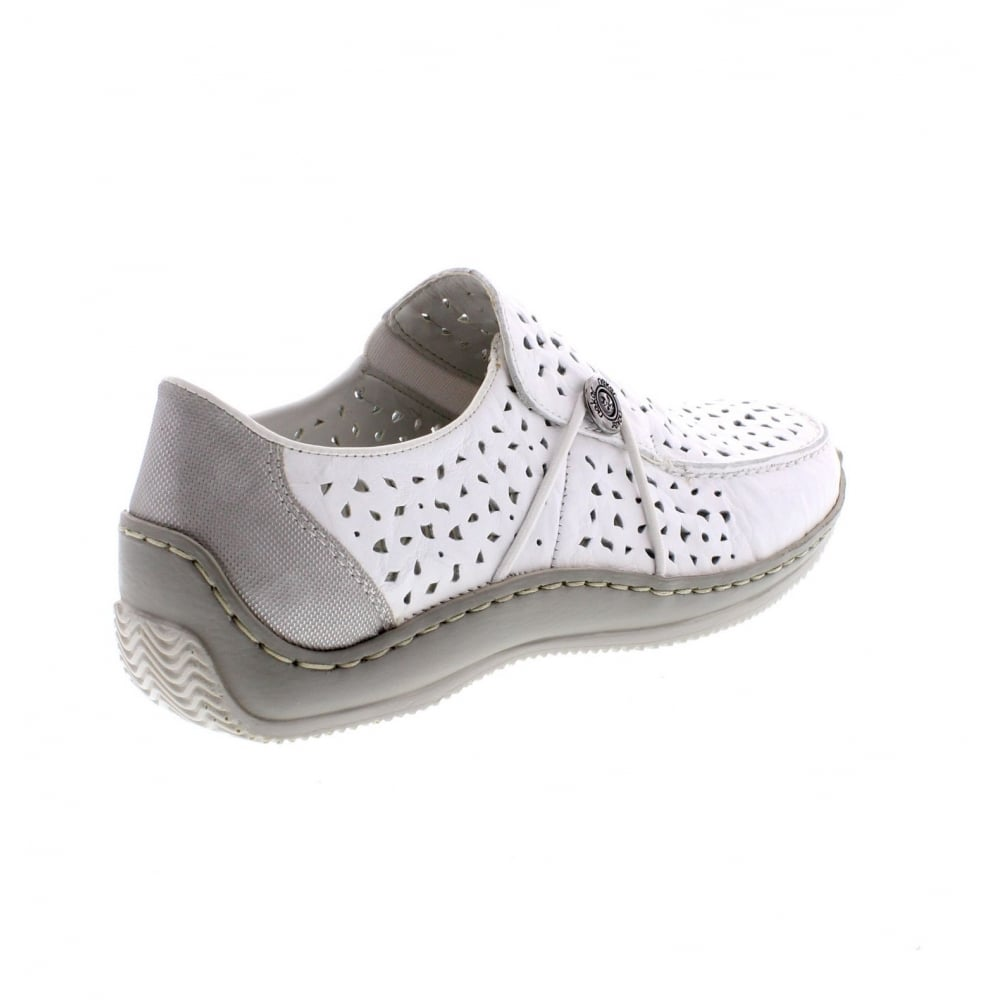 Rieker L1766 Womens Casual Shoes 39 White UoaYtqUFy