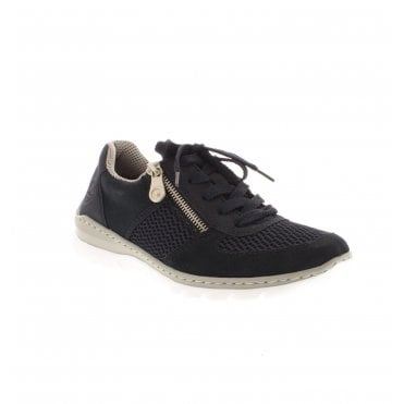 7a0ce4b8c46c2 Rieker L3230-14 Ladies Dark Blue Casual Shoes - Rieker Ladies from Rieker UK