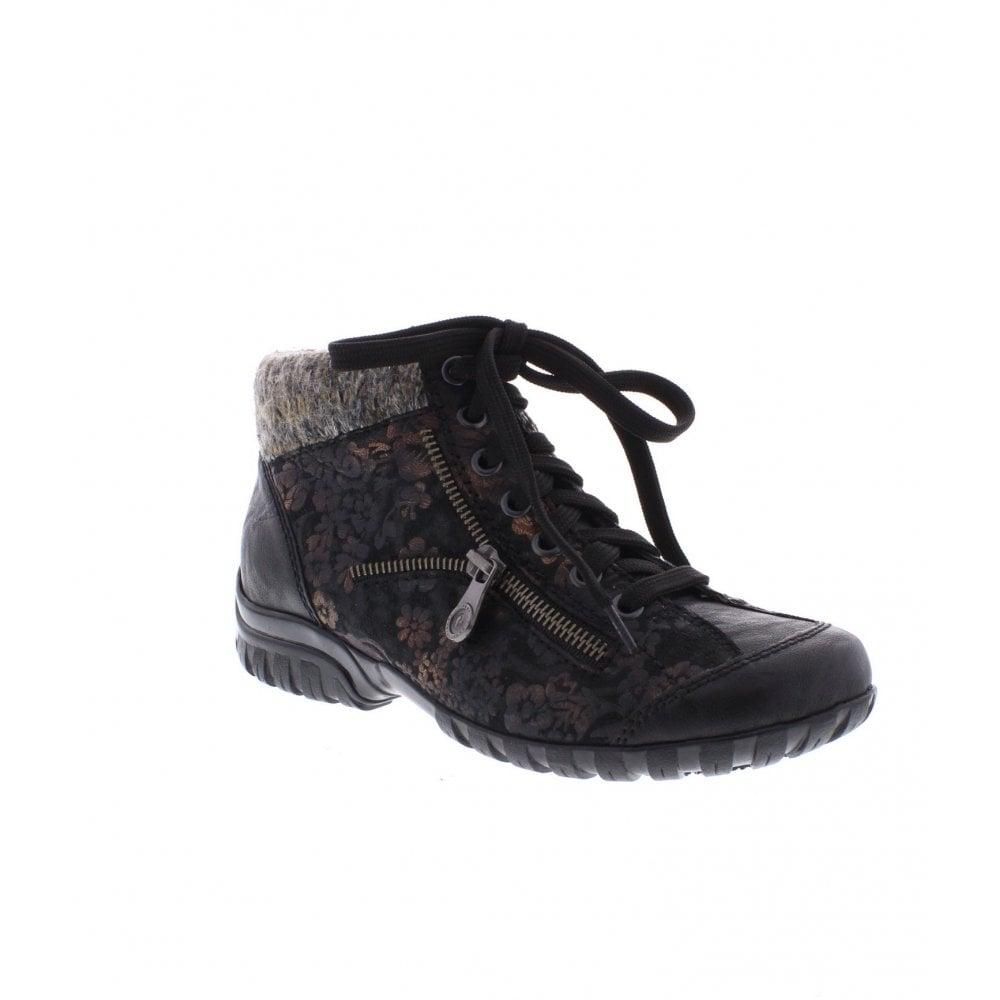 672301d728a60 Rieker L4631-03 black Ladies' ankle boots - Rieker Ladies from Rieker UK