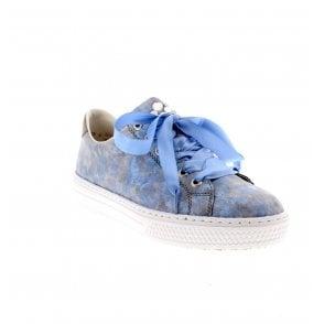 Women Rieker Trainers blue L5923 12 L5923 12 | shoesyouwant