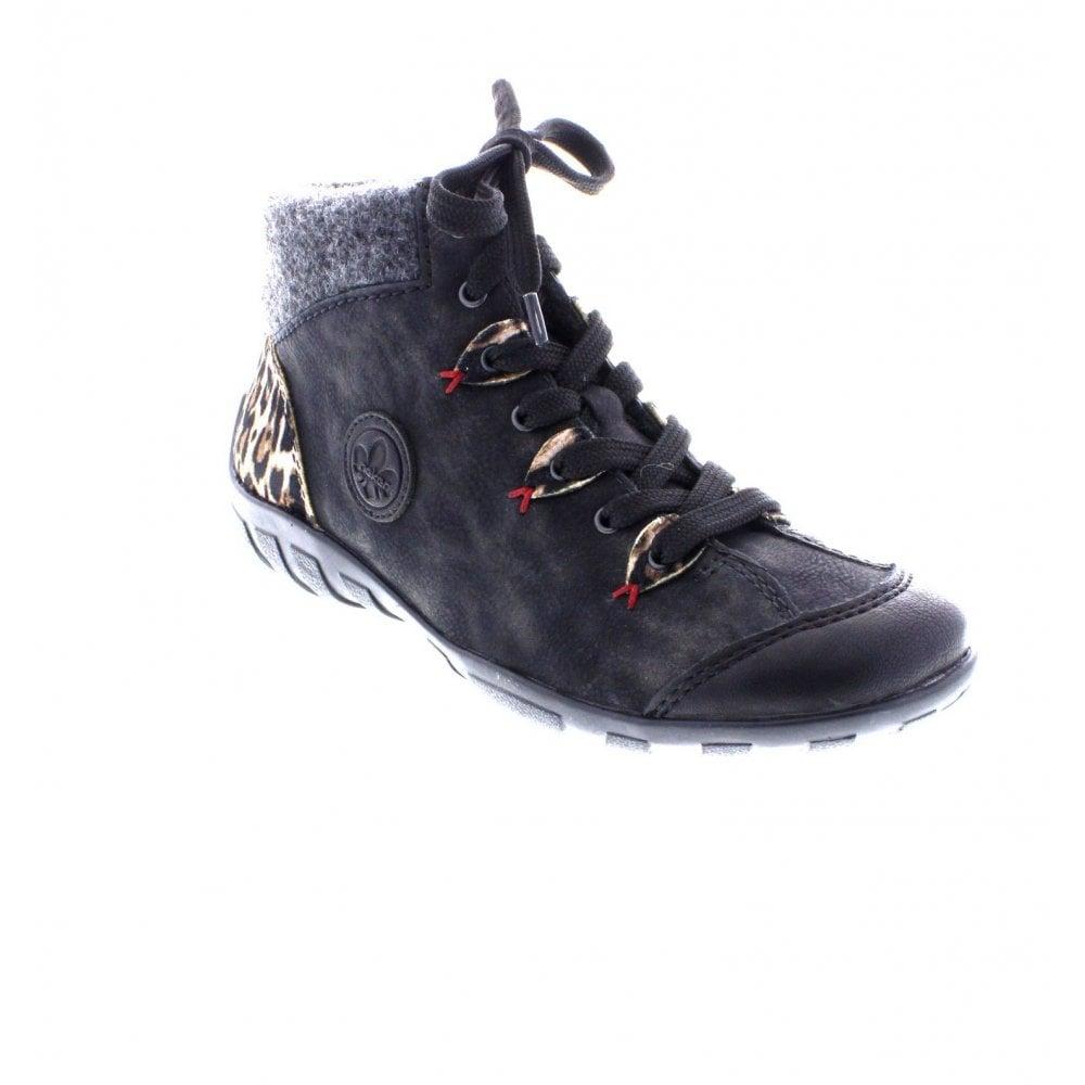 Schlussverkauf wo zu kaufen toller Rabatt für L6513-03 black Ladies' ankle boots
