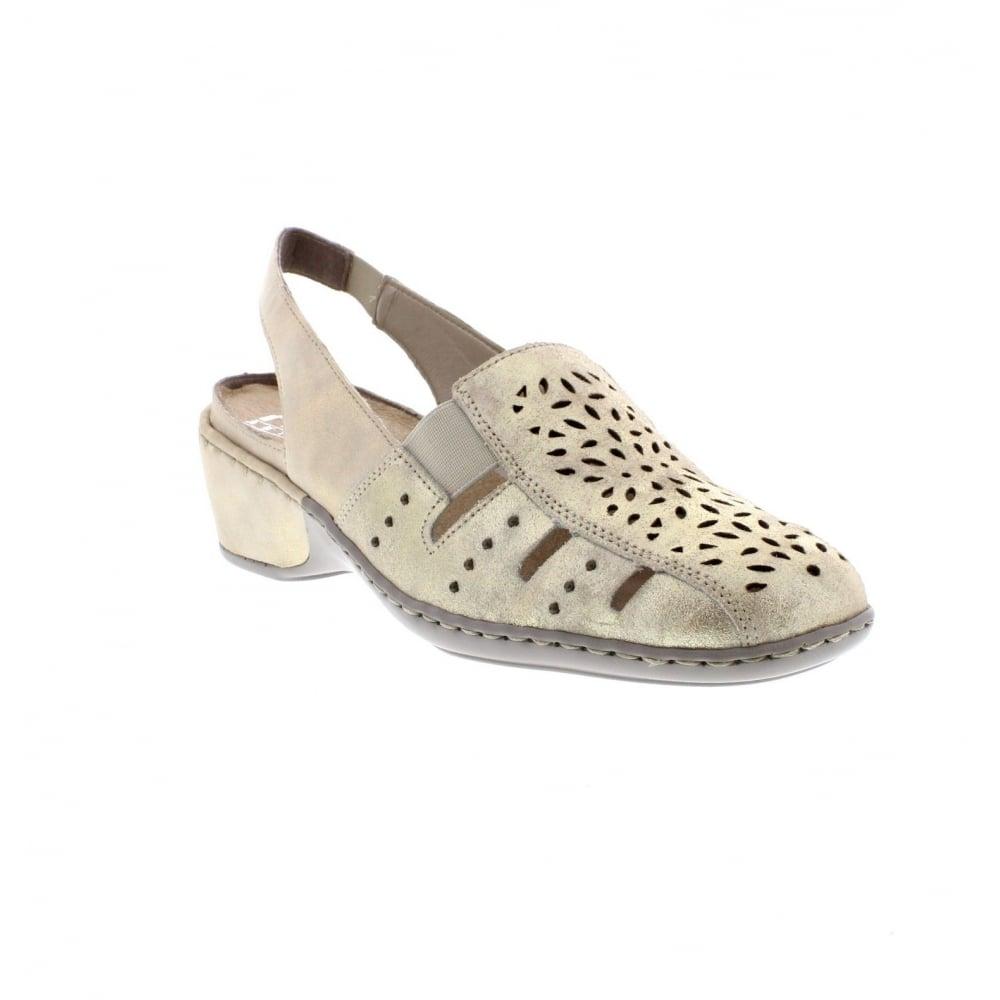 9485f41df Rieker Ladies 47190-62 Ladies  beige shoes - Rieker Ladies from ...