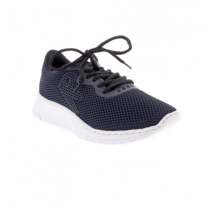 Rieker Ladies N5022-14 Ladies blue casual shoes