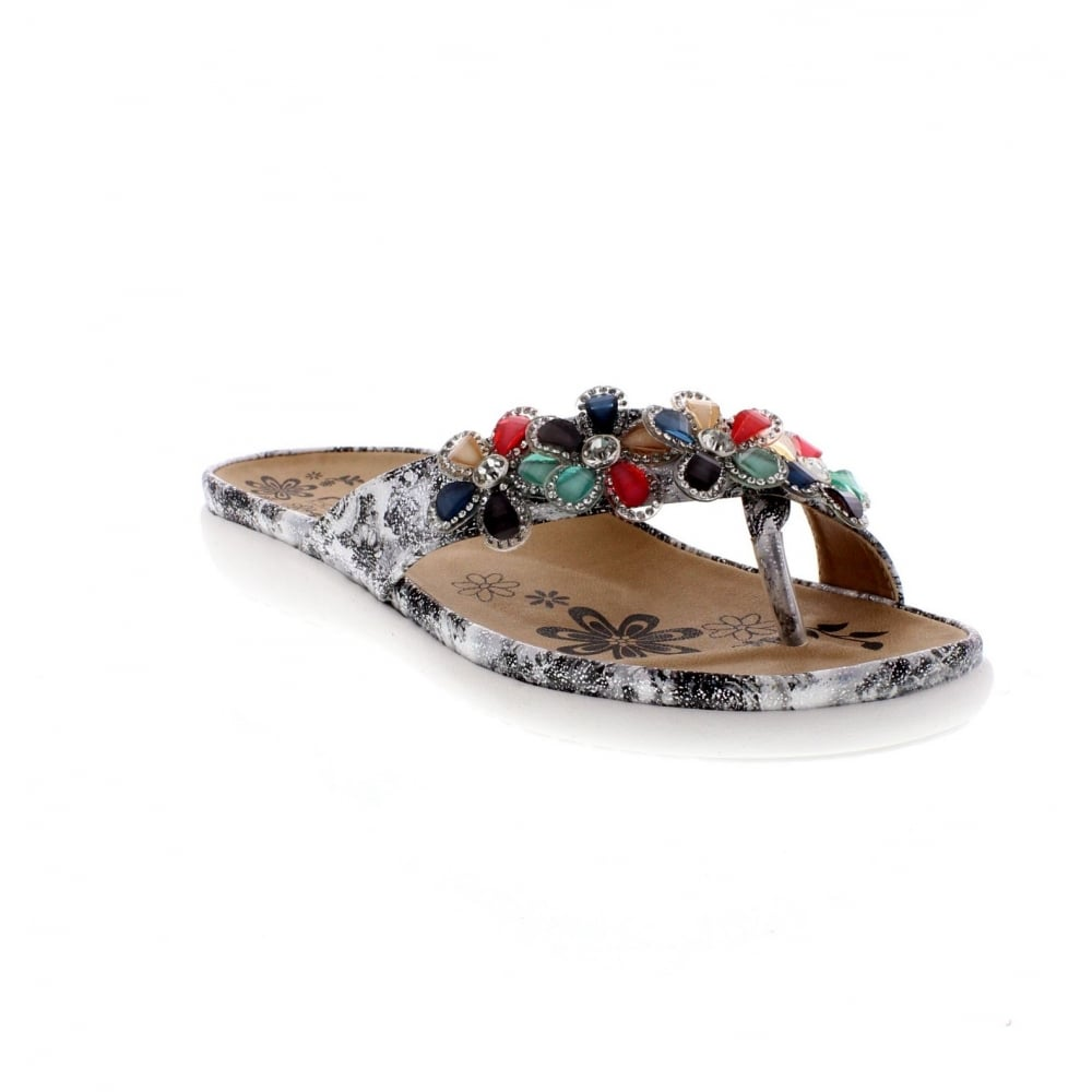 4ff639e74d67 Rieker Ladies V9591-90 Ladies Slip On Sandals - Rieker Ladies from ...