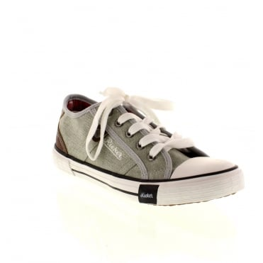 Rieker M2212-40 Ladies Grey Lace shoes
