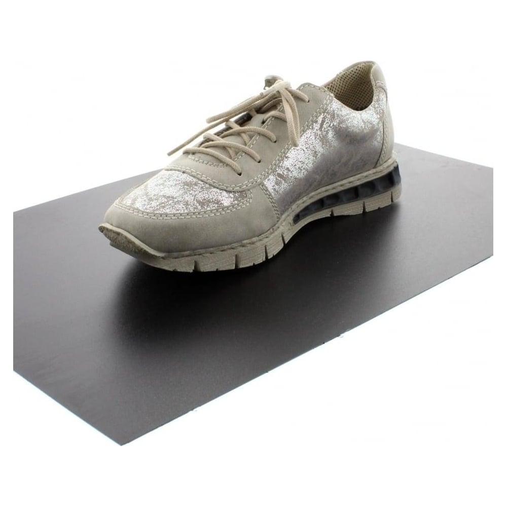 Sneakers RIEKER M2840 40 Grey Combination