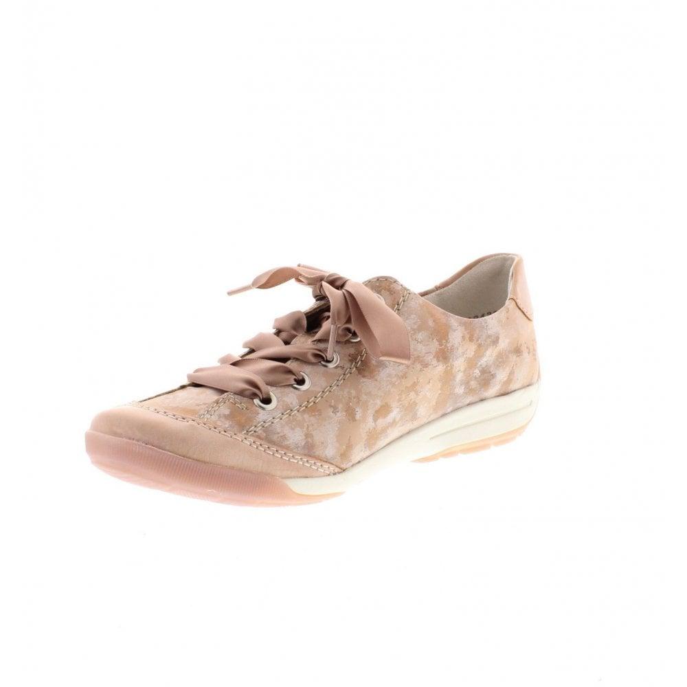 Rieker Schnürschuhe M3024-32 rosa//pink