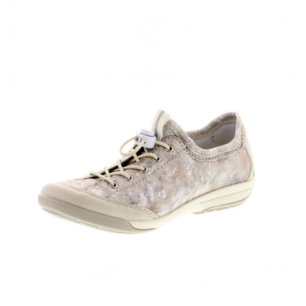 huge discount 84a07 5130a M3063-81 Ladies Silver Combination Casual Shoes
