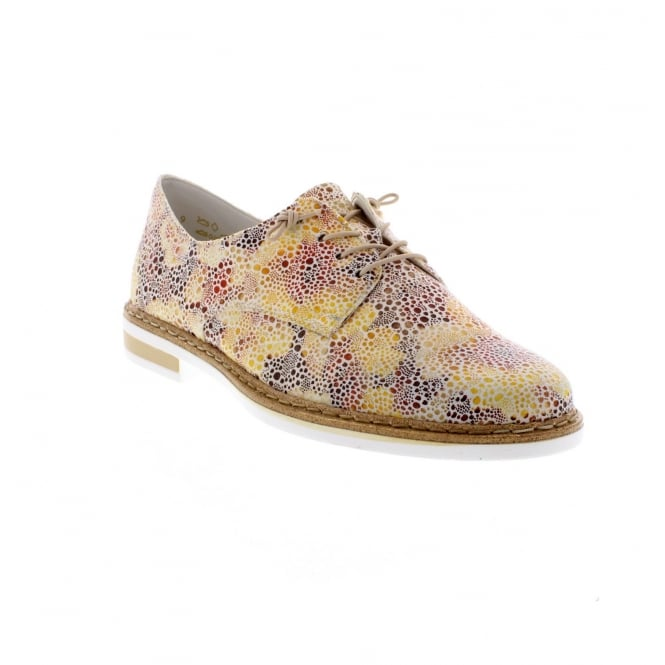 Rieker N0400-90 Ladies multi coloured shoes