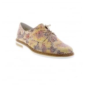 d5712cbac172 Rieker N0400-90 Ladies multi coloured shoes