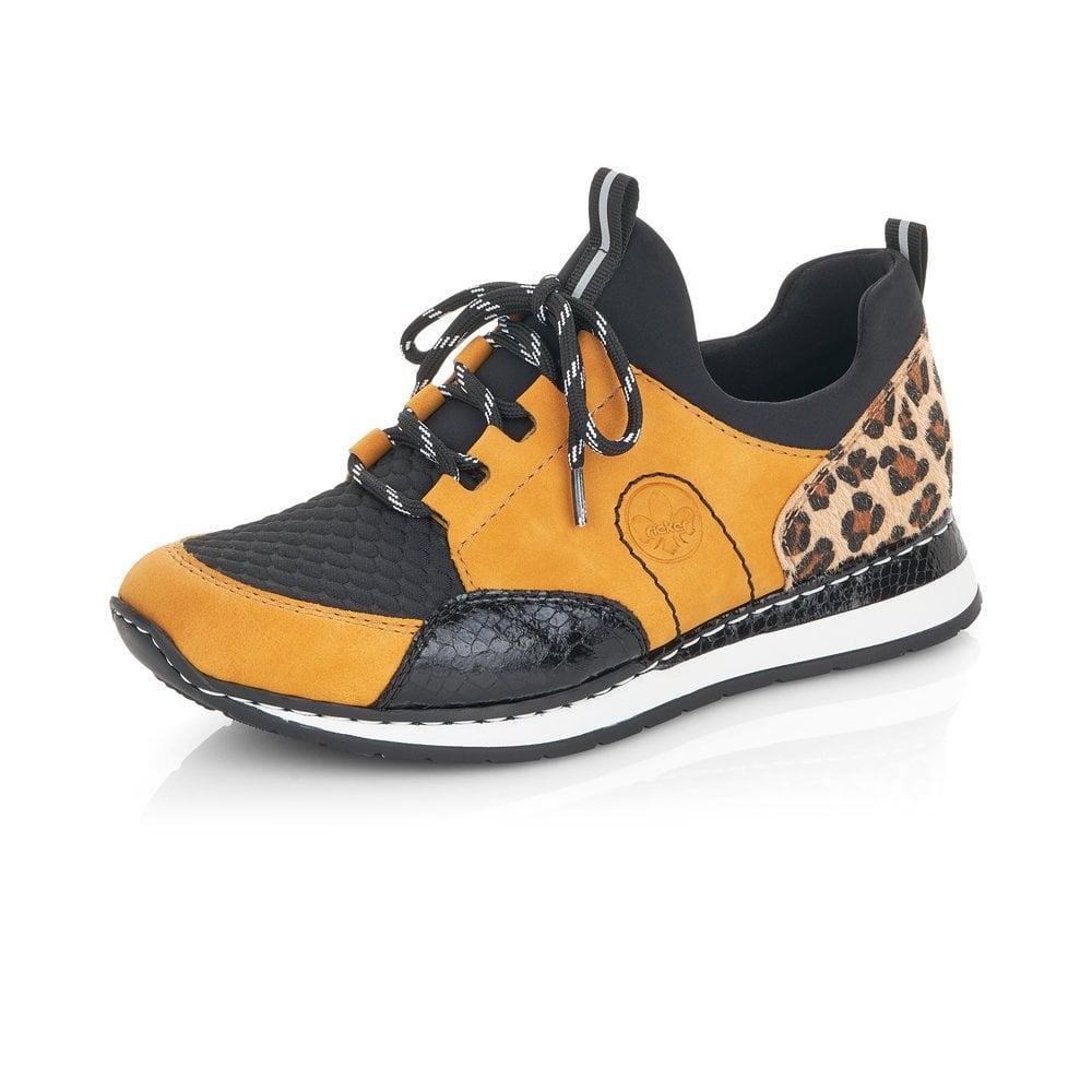 Rieker N3083-68 Ladies Yellow