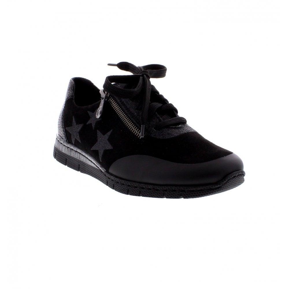 Rieker N5322-02 Ladies Black