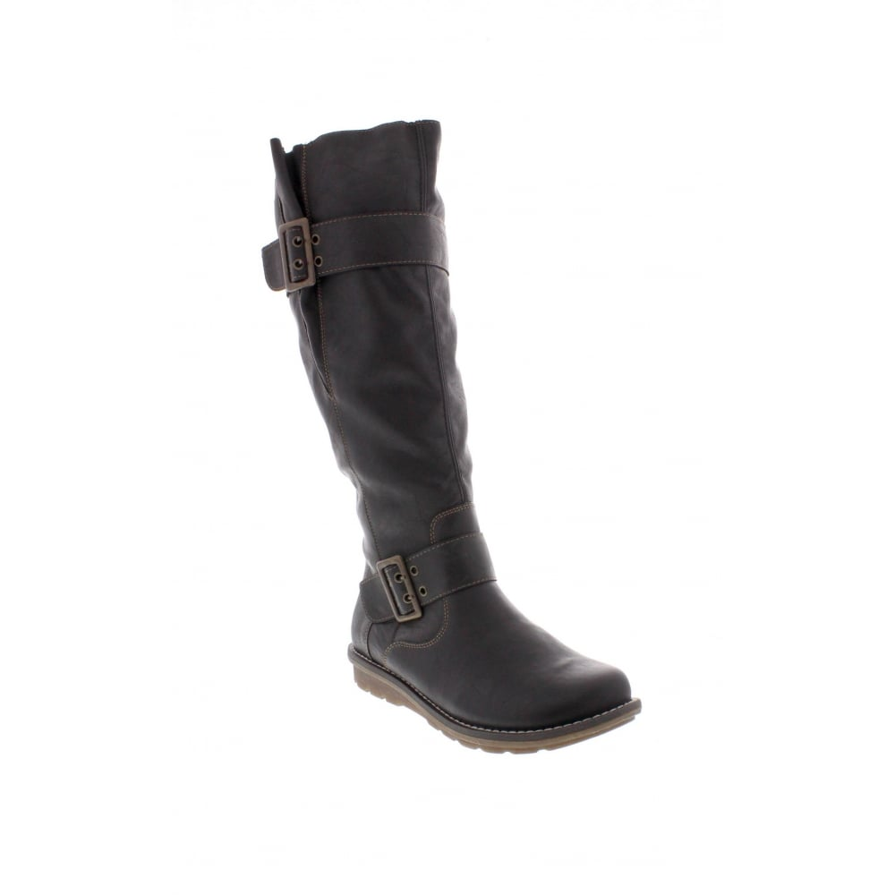 modèle unique conception de la variété coupe classique R1073-02 Ladies Black Long Boots