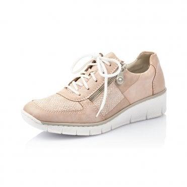 Rieker 53714-31 Casual Lace Up Shoe