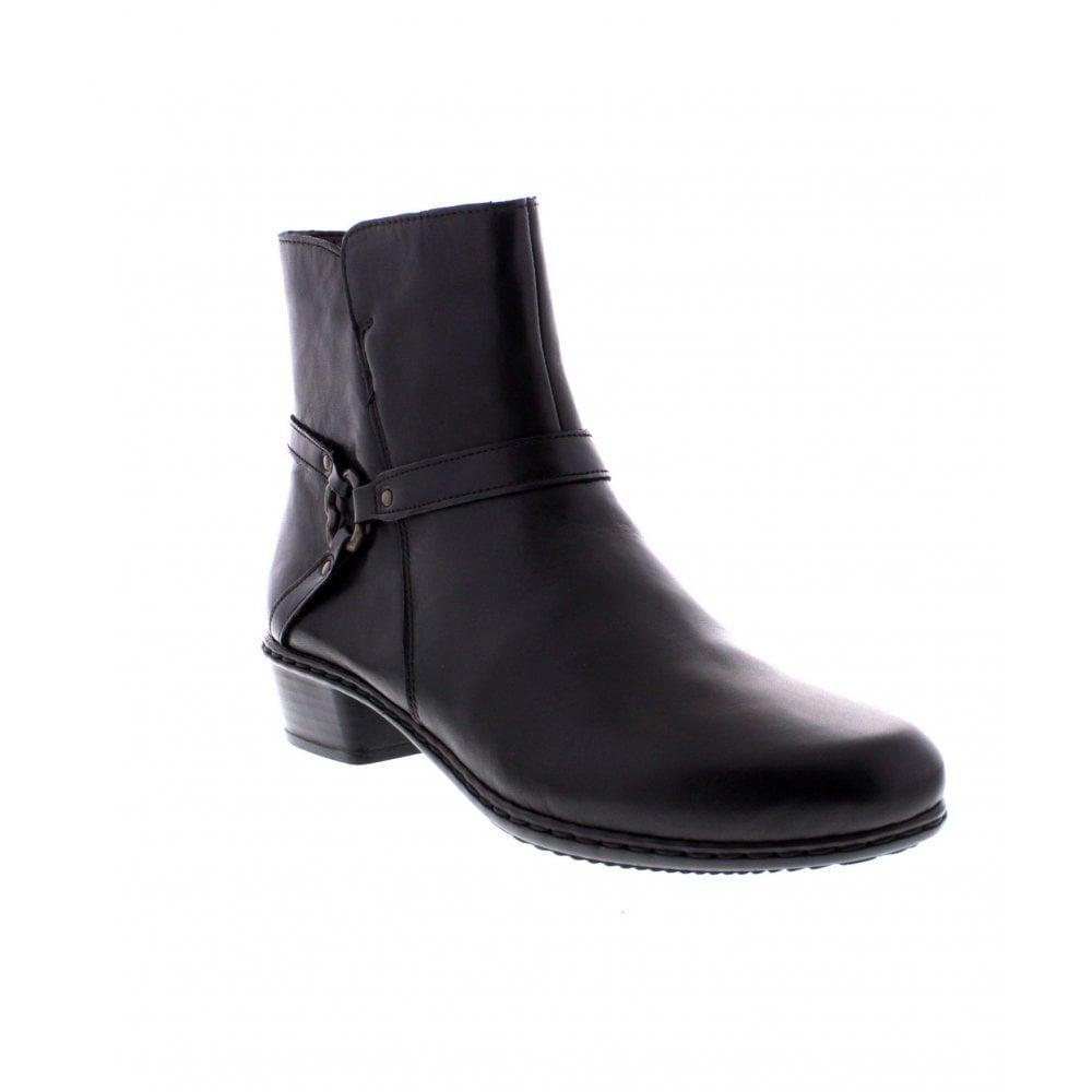 Black Ankle boots - Rieker Ladies