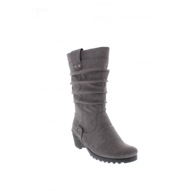 Rieker Y8080-42 Womens grey boot