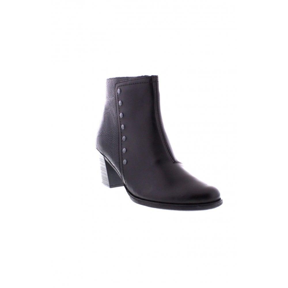 1aa04e31b28 Rieker Y8957-00 Ladies black combination boots - Rieker Ladies from Rieker  UK