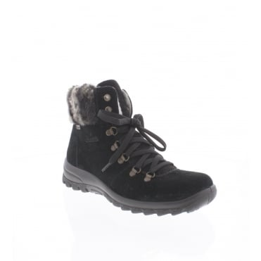 Rieker Z7130-00 Womens black Rieker 'Tex' ankle boot