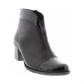 Rieker Z7664-00 Black boot