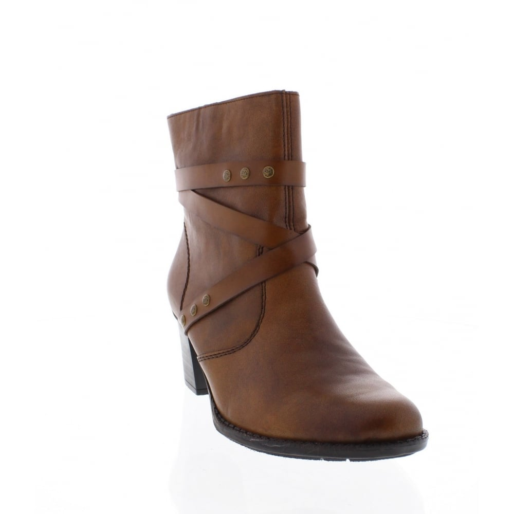 Rieker Z7668-22 Womens brown ankle boot - Rieker Ladies from Rieker UK 806dfc2a80
