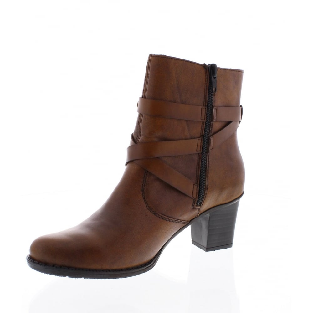 ankle Womens Z7668 22 brown boot Y76gybfv